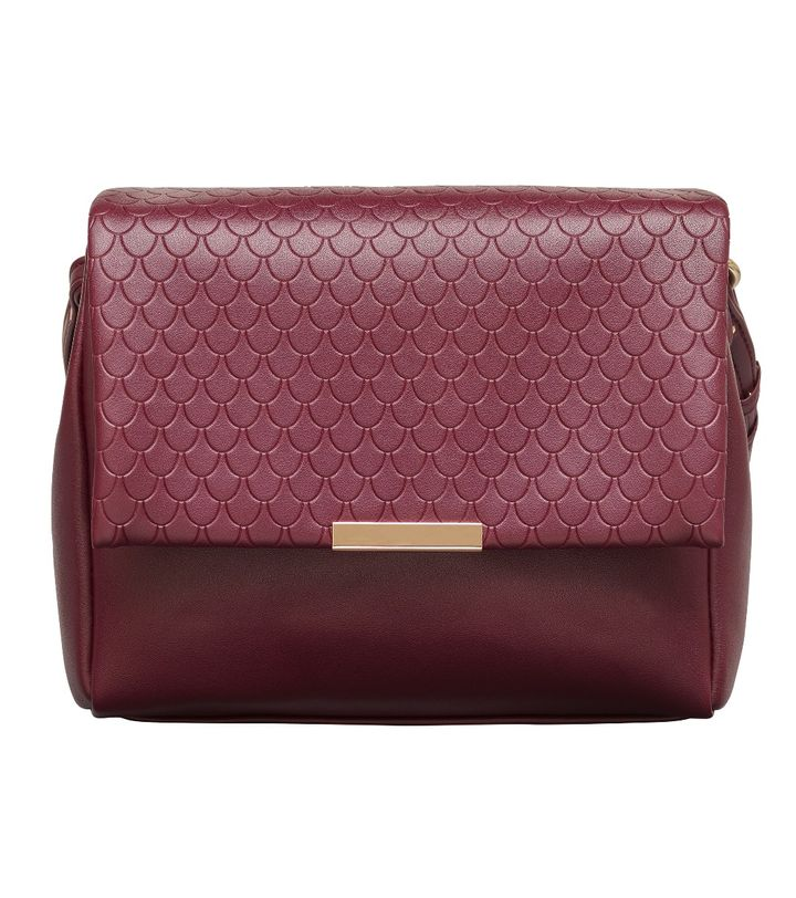Alba Crossbody Bordeaux