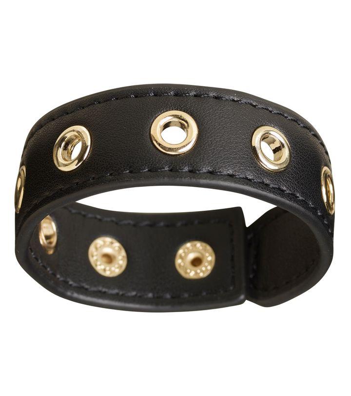 Amy Eyelet Bracelet Black