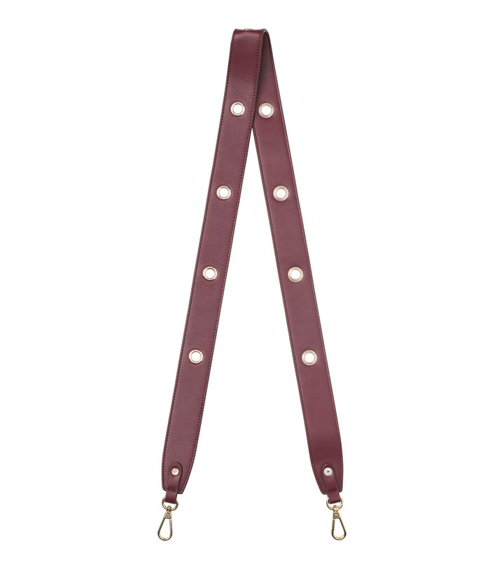 Amy Eyelet Strap Bordeaux/Gold