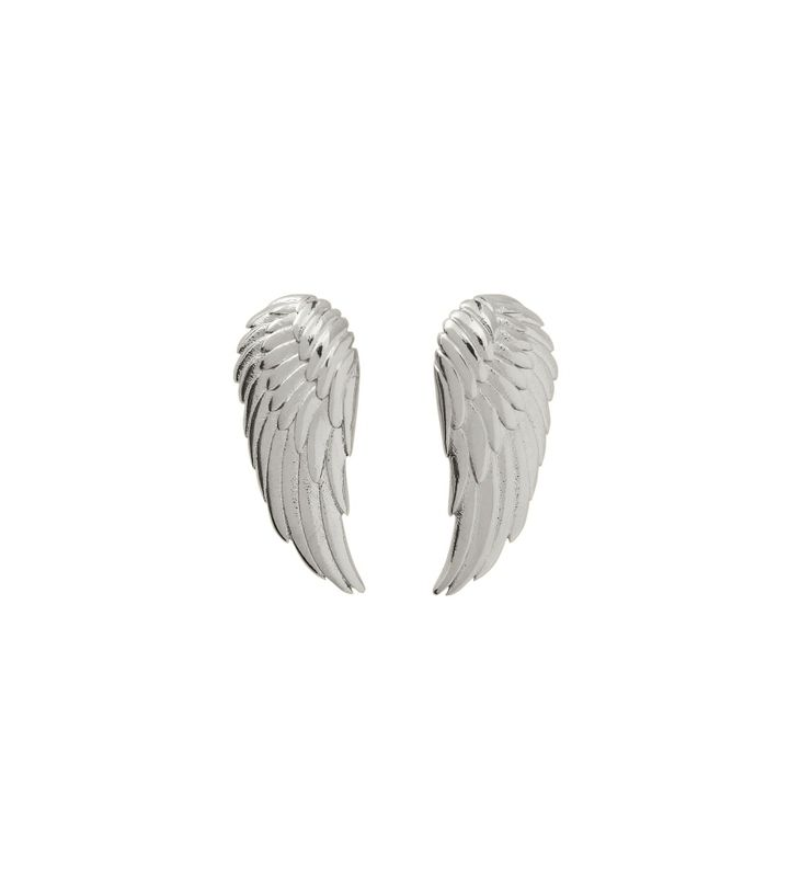 Angel Earrings Small Steel