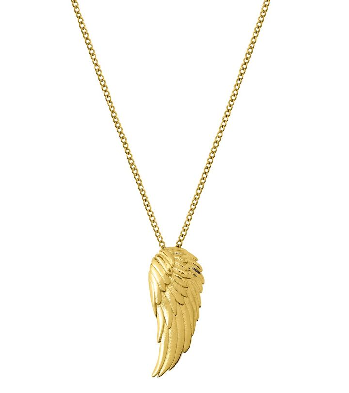 Angel Necklace Small Gold