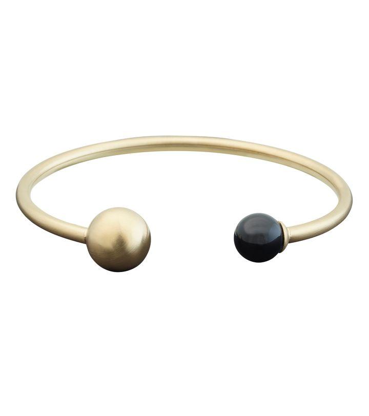 Atom Bracelet Brave Matt Gold