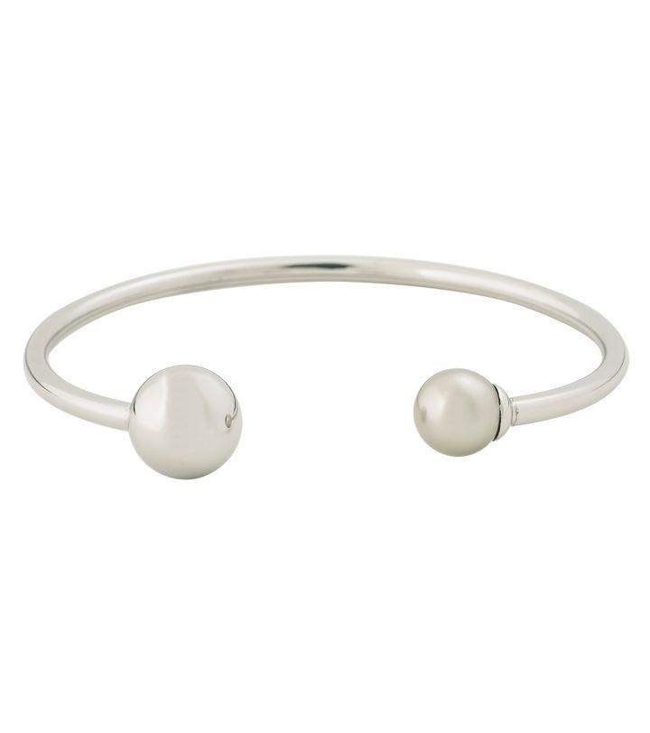 Atom Bracelet Pearl Grey Steel