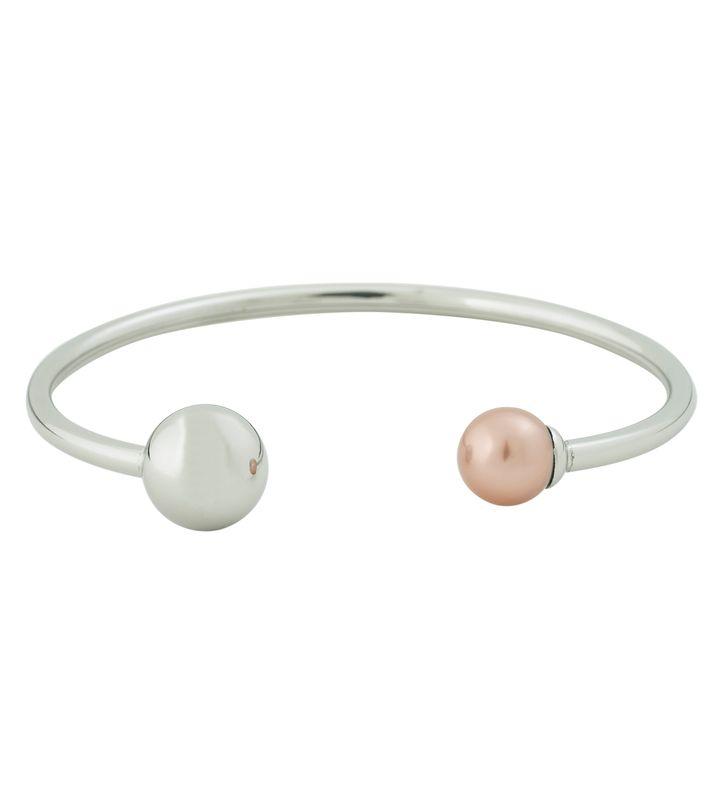 Atom Bracelet Pearl Heather Pink Steel