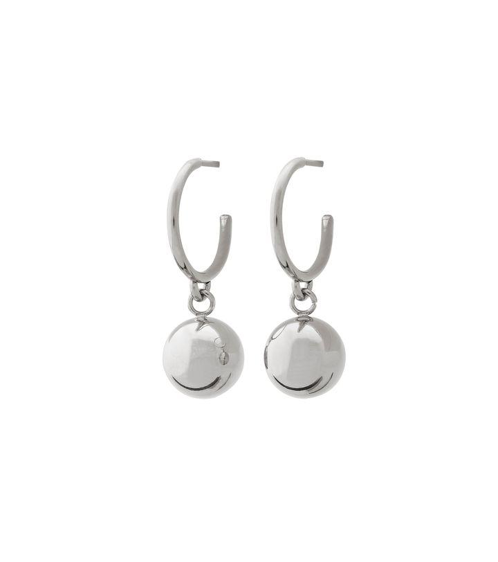 Atom Earrings Steel