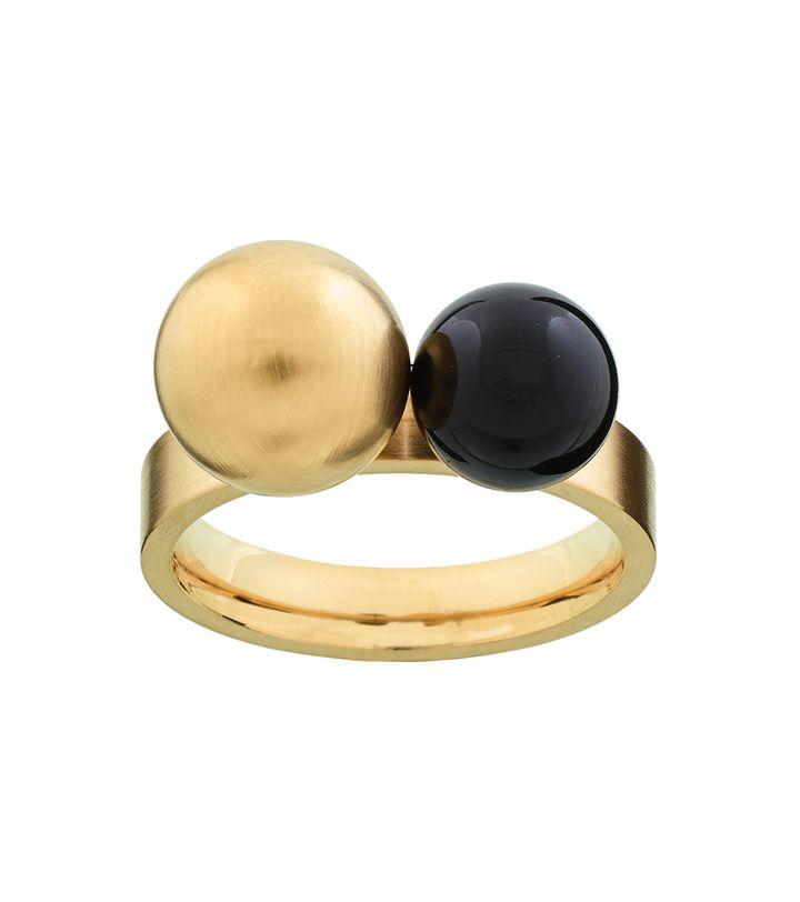 Atom Ring Brave Matt Gold