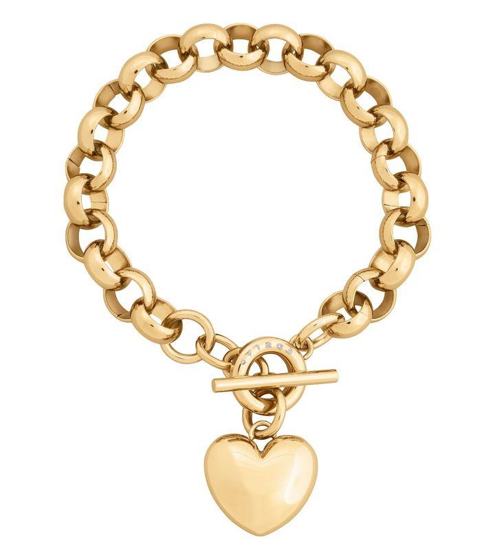Barley Bracelet Chunky Chain Gold