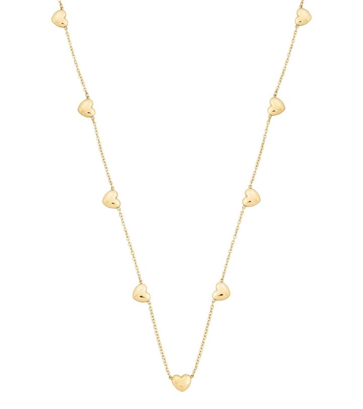 Barley Necklace Multi Gold