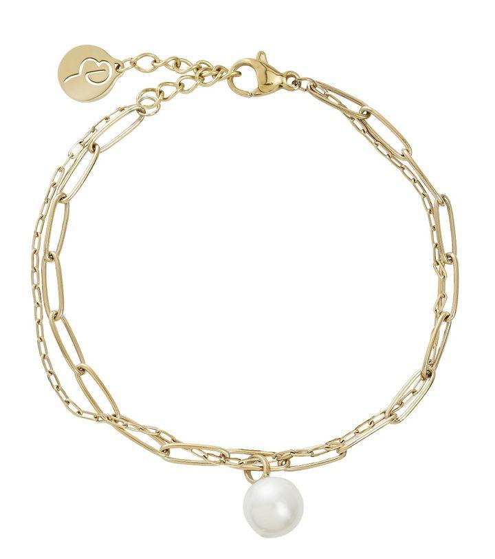Berzelii Bracelet Layered Gold