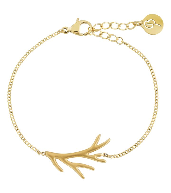 Branch Bracelet Matt Gold