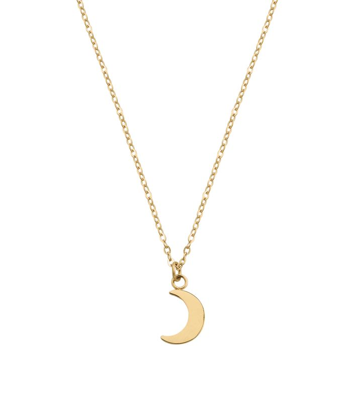 Bright Night Necklace Short Gold