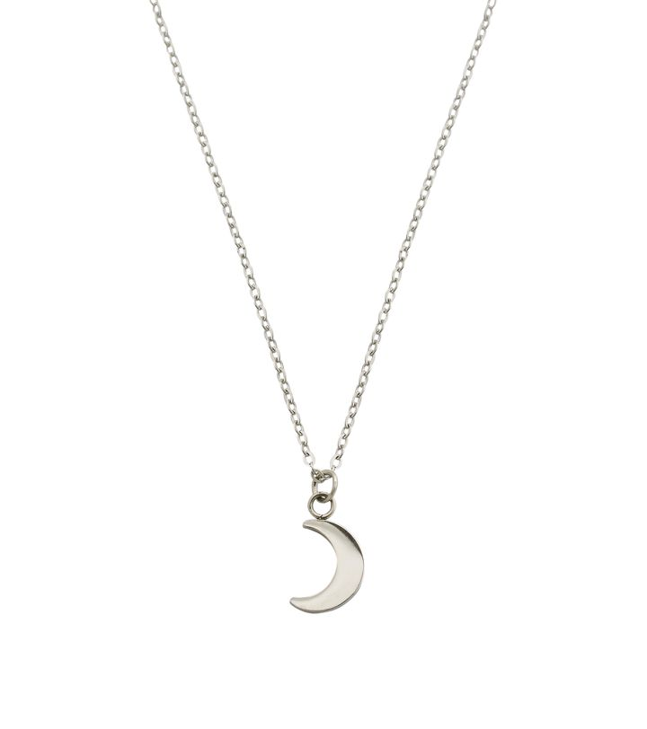 Bright Night Necklace Short Steel