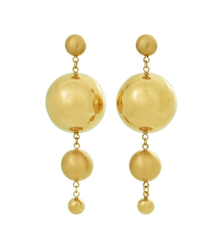 Bubbles Earrings Gold
