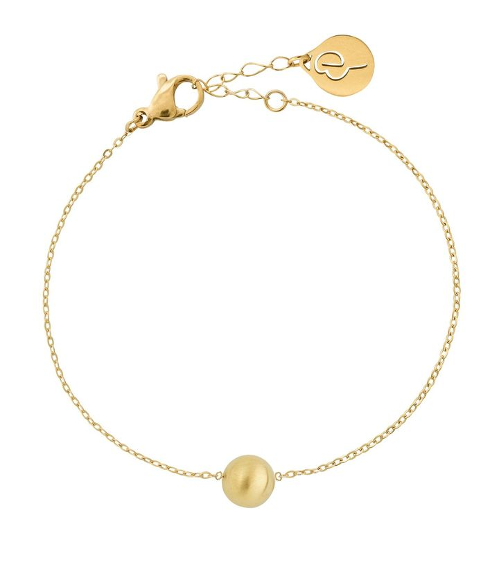 Bubbles Mini Bracelet Matt Gold