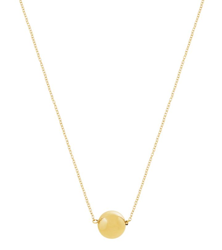 Bubbles Mini Necklace Gold