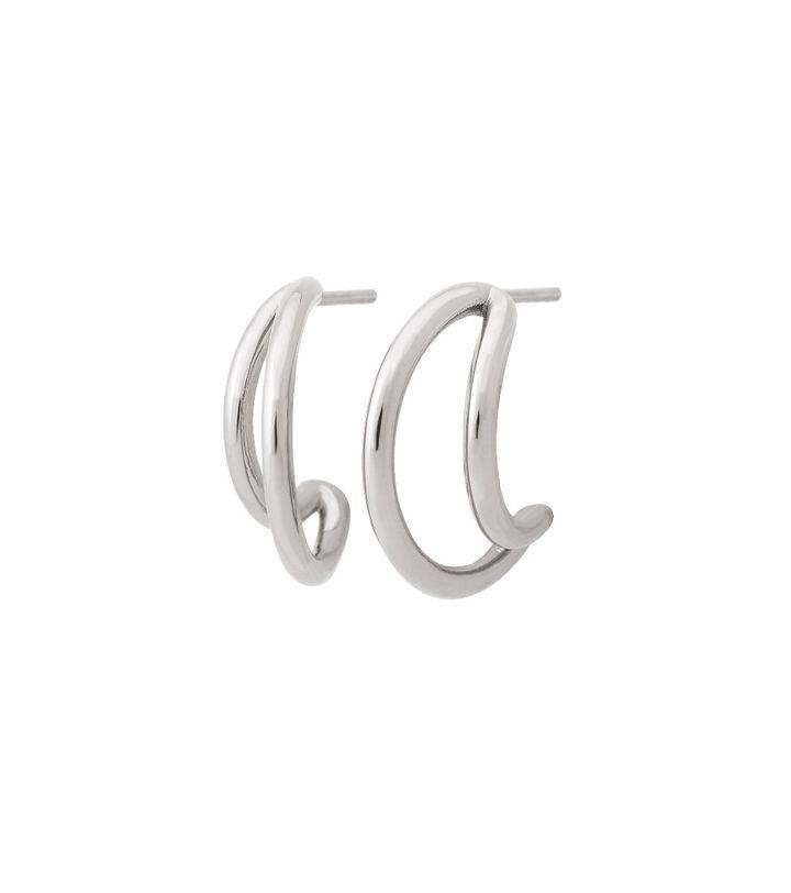 Callisto Earrings Steel