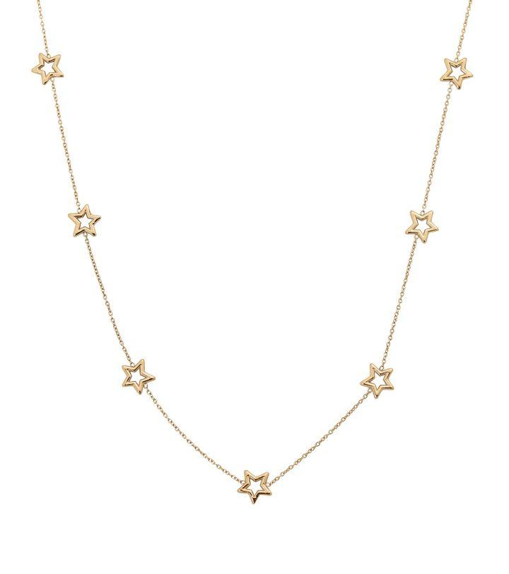 Capella Necklace Multi Gold