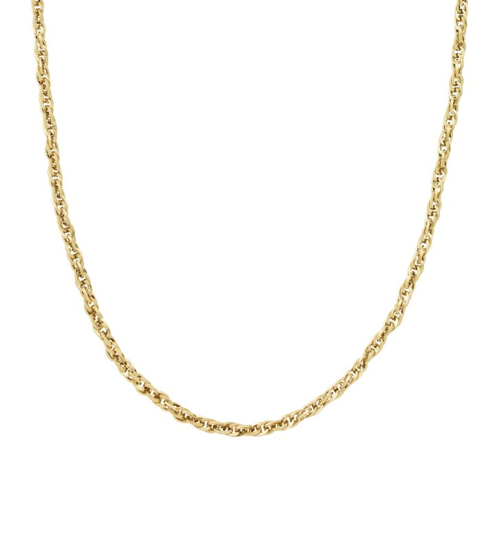 Chain Braided 50 cm Gold