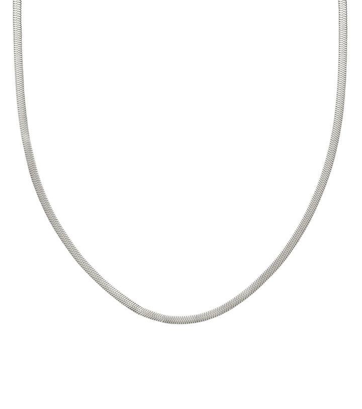 Chain Herringbone 40 cm Steel