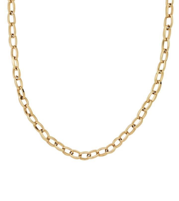 Chain Linked Large 40 cm Gold