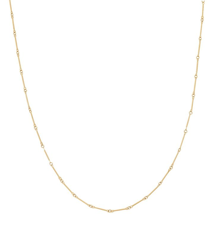 Charmentity Chain Bar 50 cm Gold