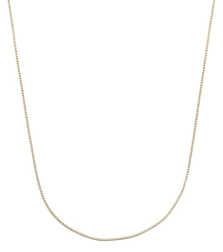 Charmentity Chain Box 40 cm Gold