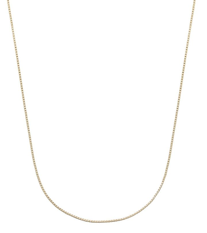 Charmentity Chain Box 80 cm Gold