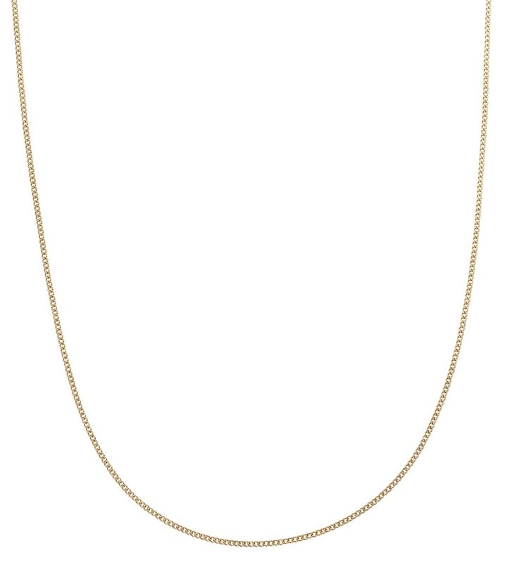 Charmentity Chain Curb 80 cm Gold