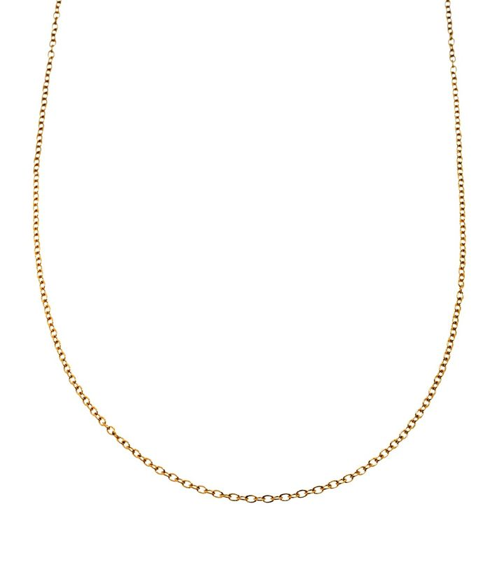 Charmentity Chain Medium 60 cm Gold