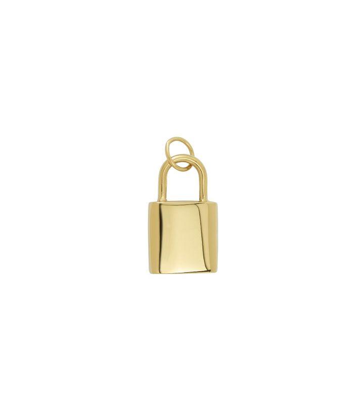 Charmentity Padlock L Gold