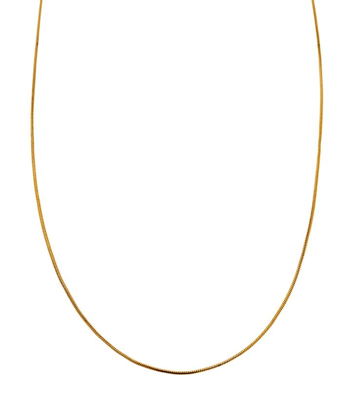 Charmentity Snake Long 80 cm Gold