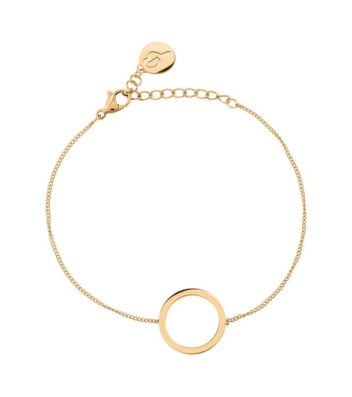 Circle Bracelet Small Gold