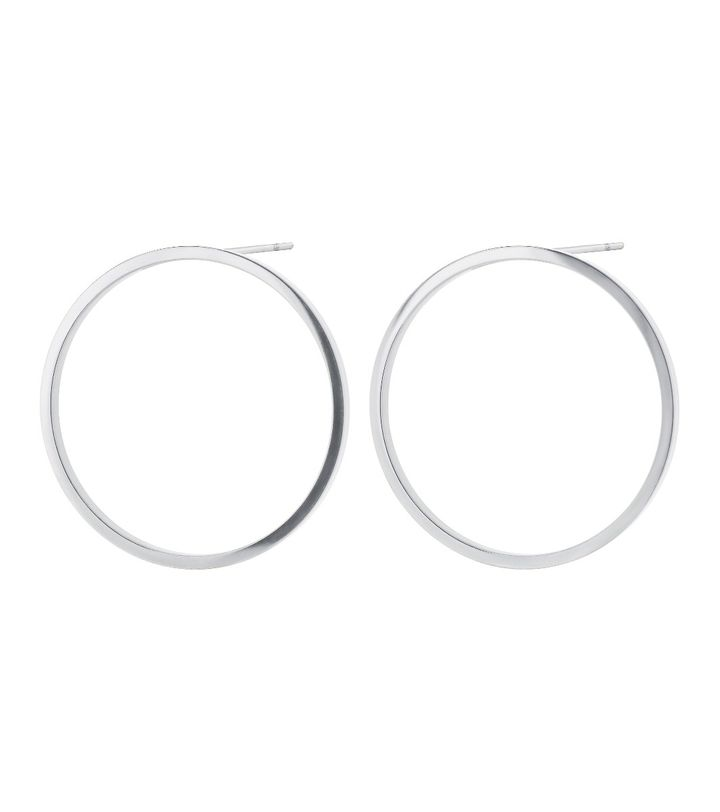 Circle Earrings Steel