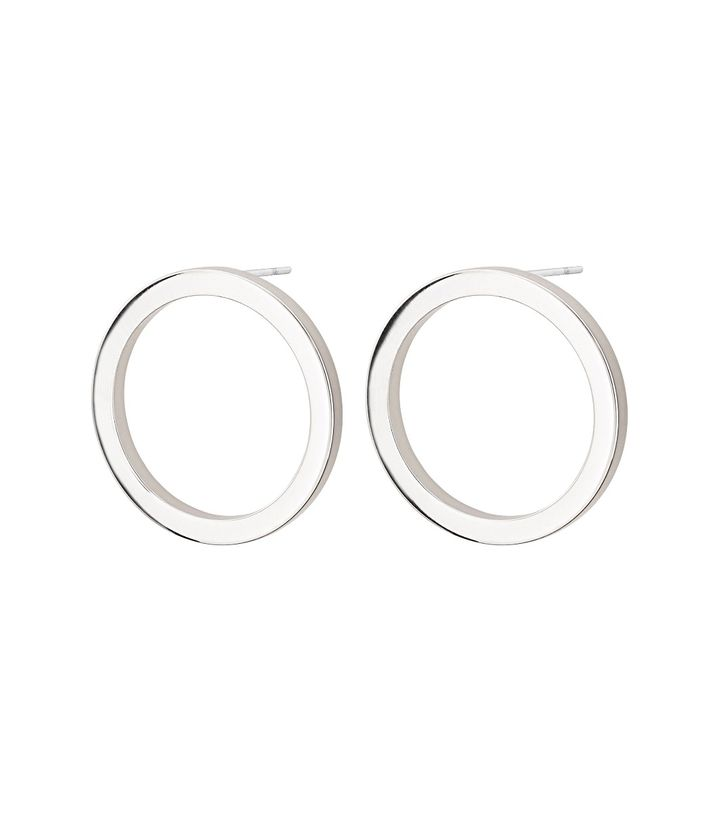 Circle Earrings Small Steel