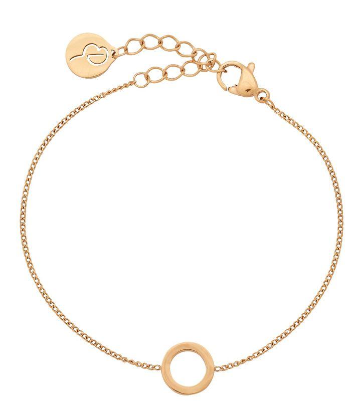 Circle Mini Bracelet Gold