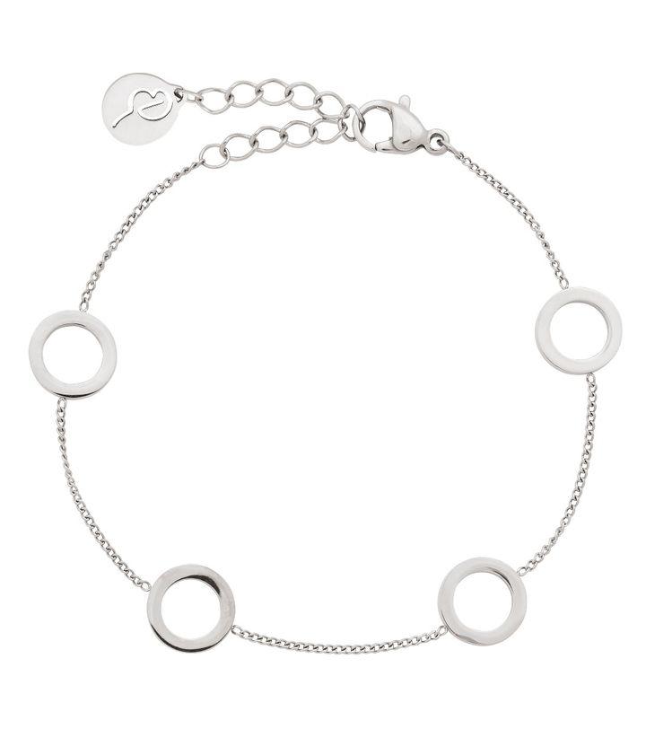 Circle Mini Bracelet Multi Steel