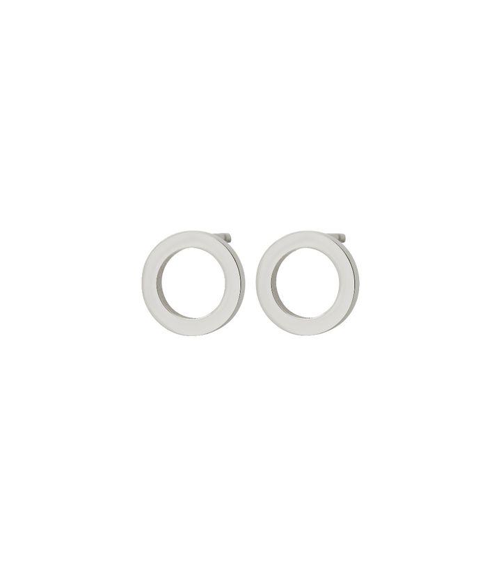 Circle Mini Studs Steel