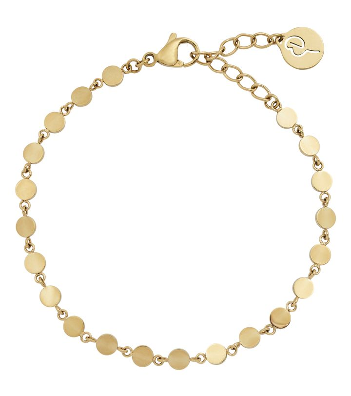 Confetti Bracelet Multi Gold