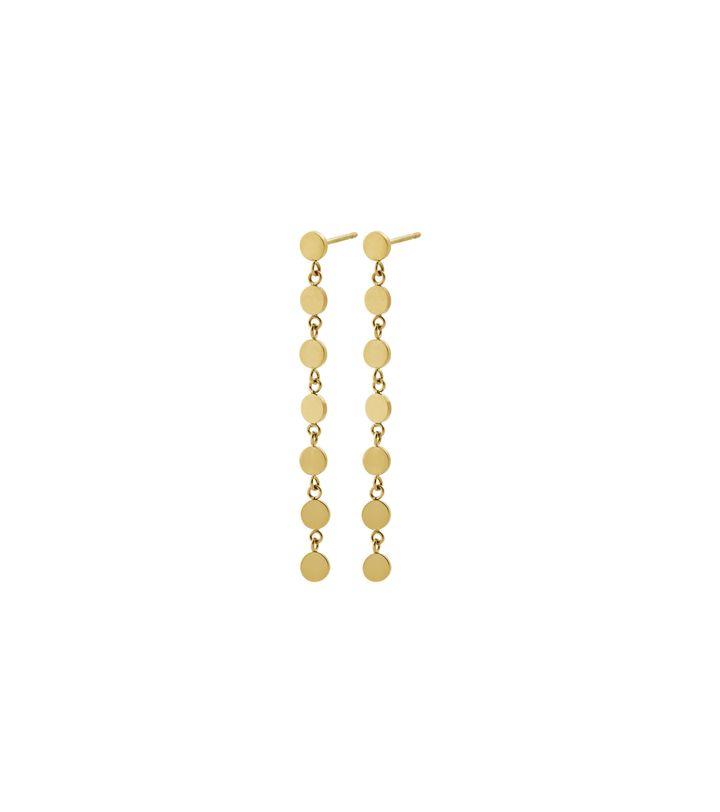 Confetti Earrings Gold