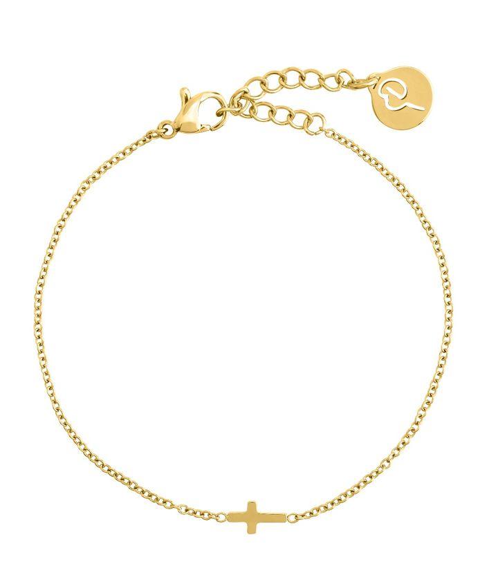 Cross Bracelet Gold