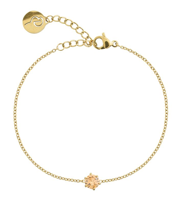 Crown Bracelet Gold Champagne