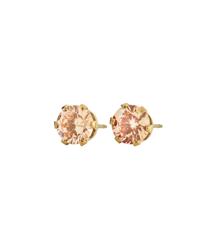 Crown Studs Gold Champagne