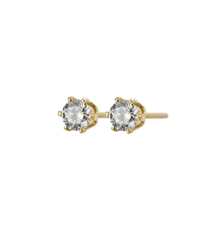 Crown Studs Mini Gold