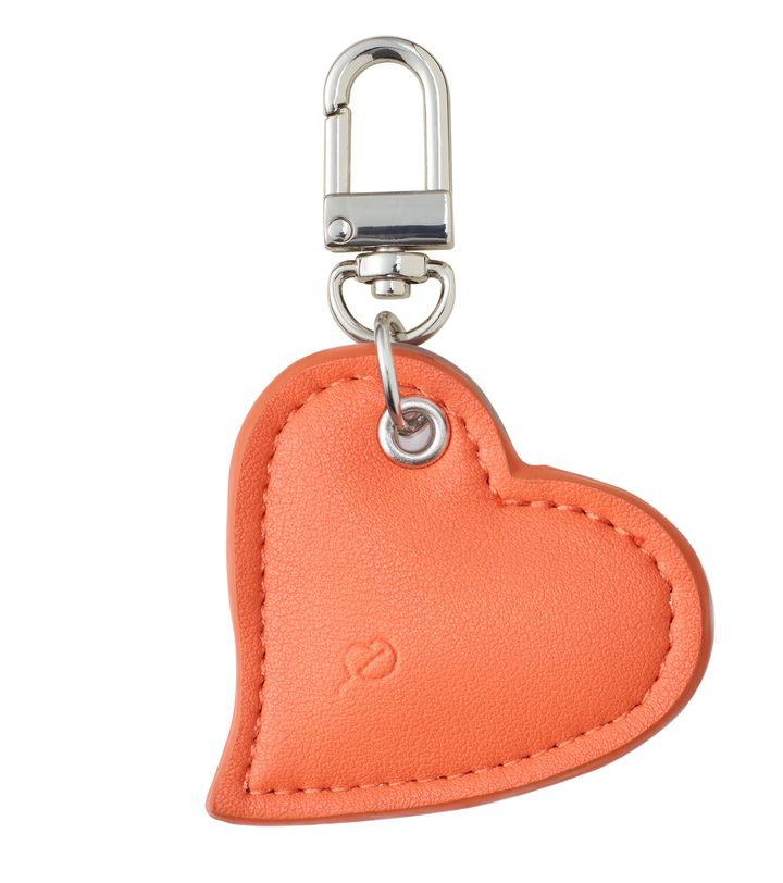 Crush Bag Charm Cantaloupe
