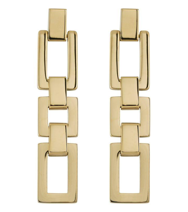 Deco Earrings Gold
