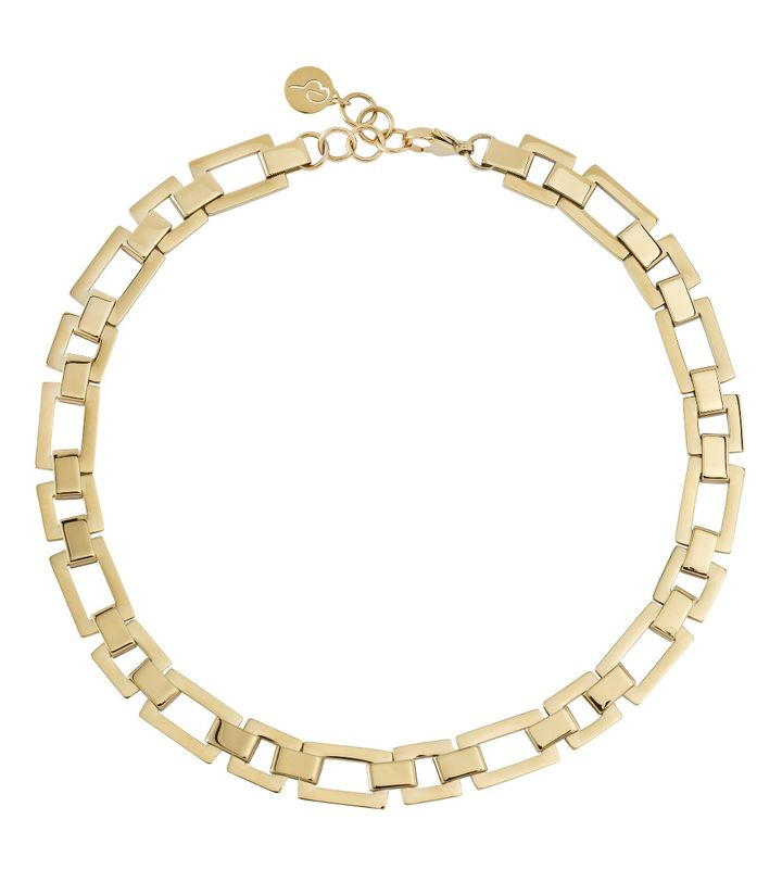 Deco Necklace Gold