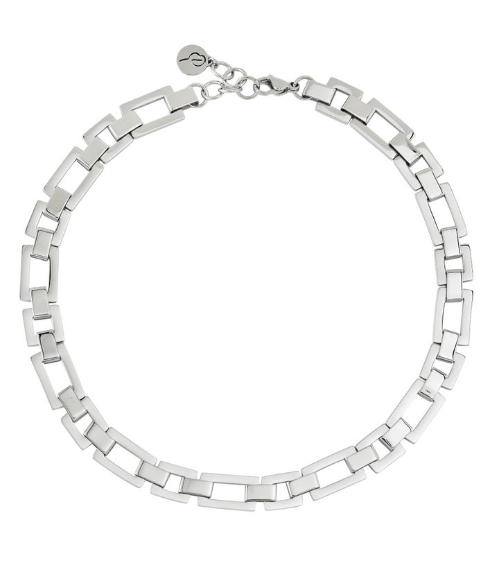 Deco Necklace Steel