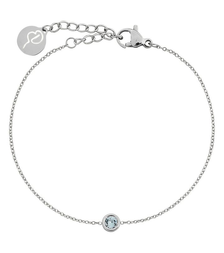 Dew Drop Bracelet Aqua Steel