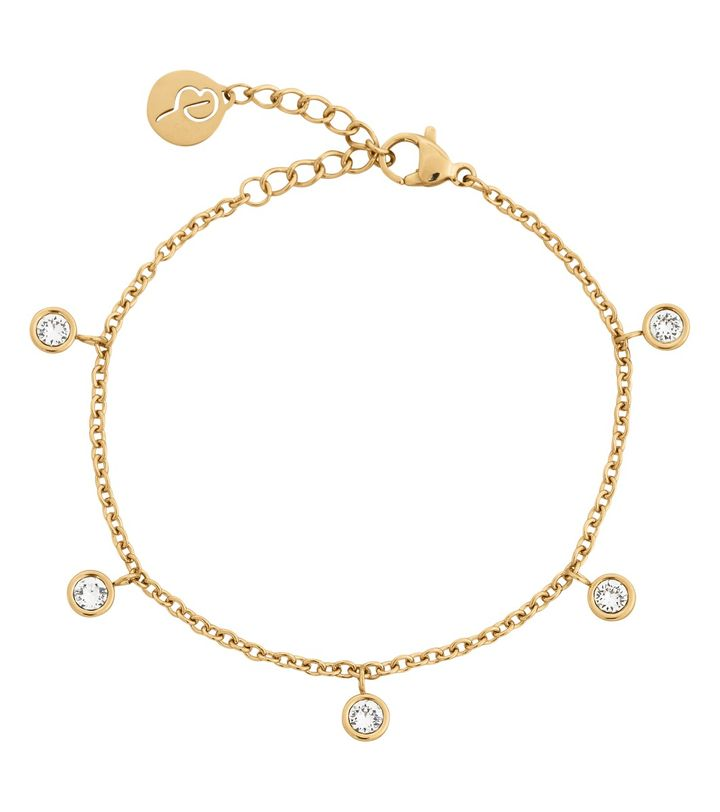 Dew Drop Bracelet Multi Gold