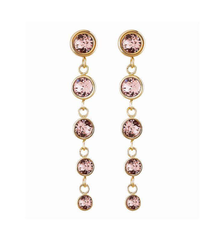 Dew Drop Earrings Multi Blush Gold